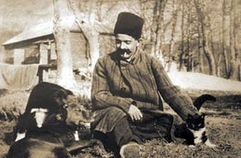 gurdjieff with dog