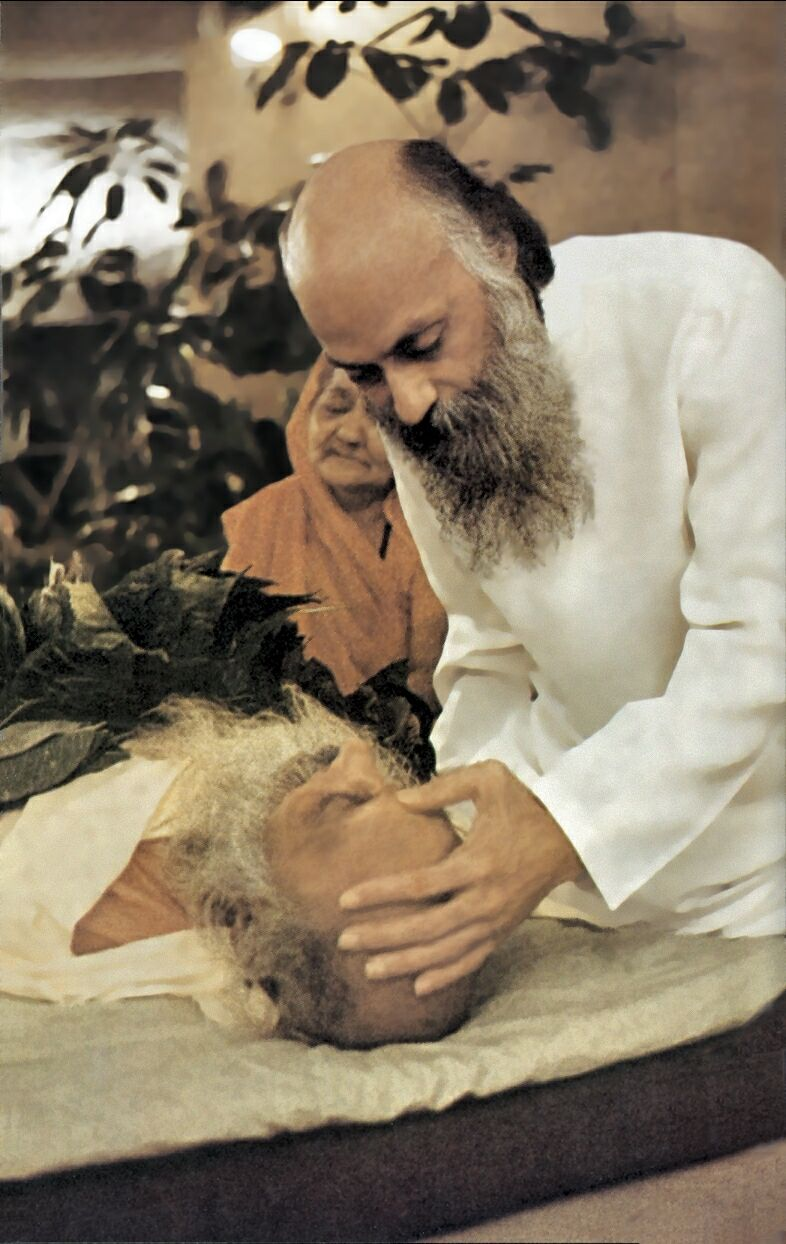osho and dead father
